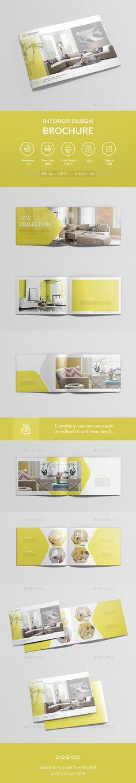 Interior Design Brochure — PSD Template