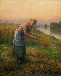 Artist Daniel Ridgway Knight   Chambersburg, Pennsylvania,15 March 1839 – 9 March 1924