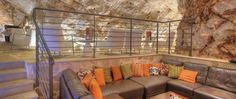 This is a bar. In a cave. You can drink and then also swim out of the cave. Split Croatia, Dubrovnik Croatia, Cave, Swim, Drink, Furniture, Home Decor, Croatia, Beverage