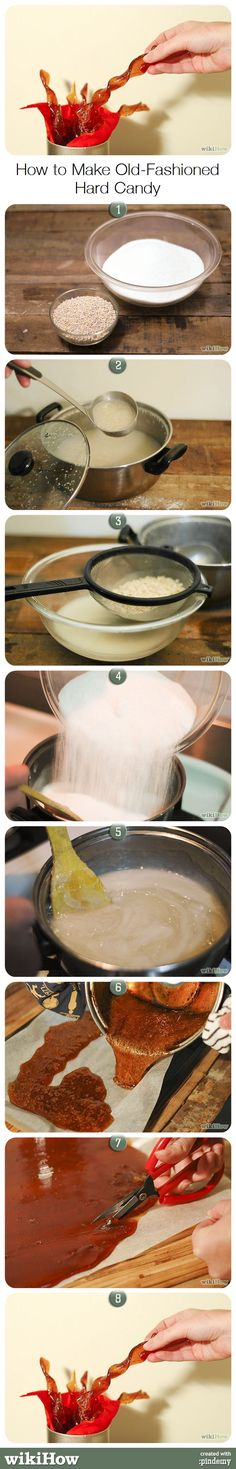How to Make Old-Fashioned Hard Candy