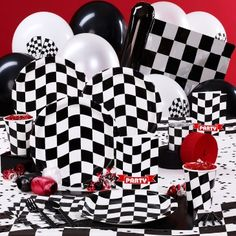 race car party supplies and favors