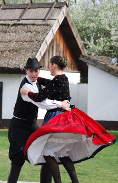 Hungarian Folk Dancers Folk Dance, Dance Art, Hungarian Dance, Beautiful Costumes, Dancing In The Rain, Folk Costume, My Heritage, Just Dance, People Around The World