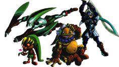 Masked Link - The Legend of Zelda