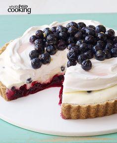 Blueberry Refrigerator Pie