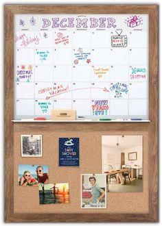 Dry Erase Calendar 34 x 48