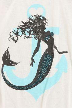 Mermaid Anchor Tank