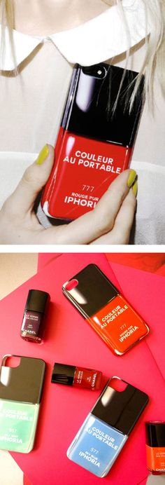 Iphone5 Case - designed after Chanel nail polish