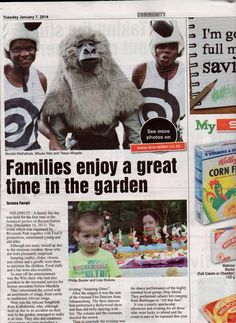 Festive Family Fun Coverage 7th Jan 2014