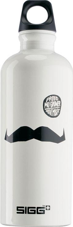 MO Grower Sigg Bottles, Movember, Water Bottle, Drinks, Drinking, Beverages, Water Bottles, Drink, Beverage