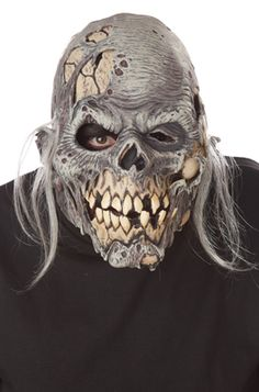 Muckmouth Ripper Mask #Halloween #zombies #scary #costumes