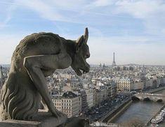 悪魔・怪物・架空生物などのグロテスクな姿をした屋根の芸術彫刻「ガーゴイル」の写真25選 - DNA