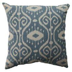 Pillow Perfect Empire Toss Pillow - Blue