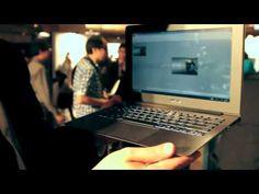 Asus Taichi dual-screen Windows 8 laptop: hands-on video - The Verge at Computex Taipei
