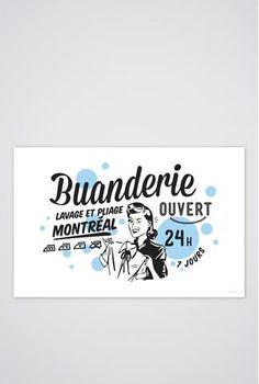 Buanderie Art Print - Main and Local