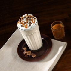 Icy Caramel Cappuccino Recipe from Land O'Lakes