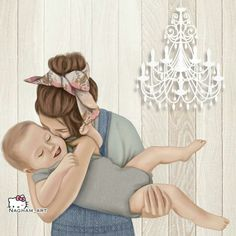 Mother Daughter Art, Mother Art, Mom Son, Mother And Child, Baby Kind, Mom And Baby, Baby Love, I Love My Son, Sarra Art