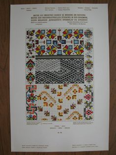 """Photo from album """"Вышивка on Yandex. Folk Embroidery, Cross Stitch Embroidery, Embroidery Patterns, Pattern Books, Repeating Patterns, Needlework, Diy And Crafts, Projects To Try, Weaving"""