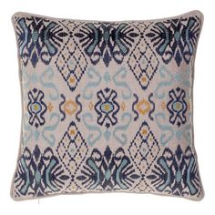 Ikat Throw Pillow | Wayfair $24