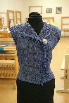 "Weaving Project from Pam Howard & Diane Totten's class ""Crimp, Color, and Create"" January 23-28 2011."