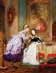 The Athenaeum - A Warm Reception (Charles Edouard Boutibonne - )