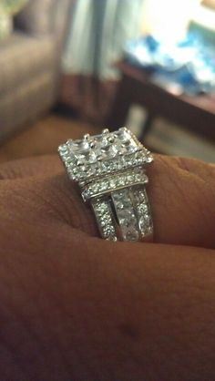 Jose Hess For Bella Luce Ring Wow Fashion Jewelry