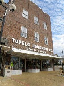 Tupelo, Mississippi - Tupelo Hardware where Elvis Presley got his first guitar