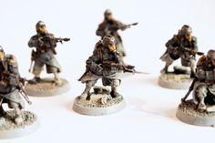 Warhammer 40k Death Korps of Krieg Imperial Guard infantry