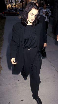 babywinona: Winona Ryder // Black 1990-1992 - Totally Buggin' - a 90's girl retrospective.