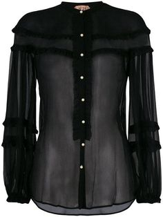 Top Pearl Black Pearl, Blouse, Long Sleeve, Sleeves, Collection, Black, Tops, Women, Fashion