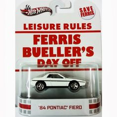 www.rafgtoys.com.br: Hot Wheels Retro Entertainment - Ferris Bueller's ...