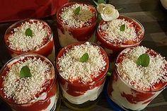Dessert nach Spaghettieis Art 1