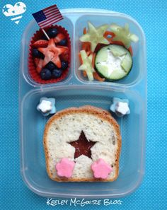 Keeley McGuire: Lunch Made Easy: Patriotic Stars