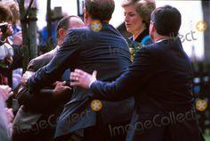 Princess Diana Attack 04-13-1989 Photo by Dave Chancellor-alpha-Globe Photos