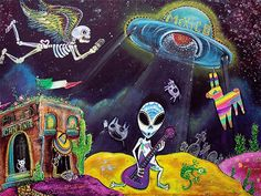 aliens surreal art - Google Search