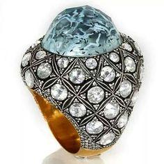Sevan Biçakçi's one-of-a-kind aquamarine ring