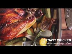 Roasted Chicken with Summer Vegetables | Farm To Table Baby Mama