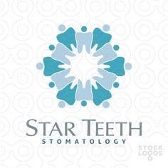 Star Teeth | StockLogos.com