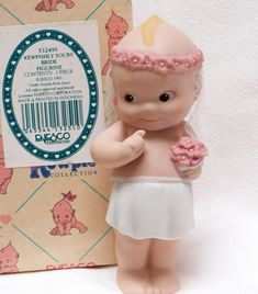 Artist John Wright 2000 Millennium Kewpie Coa And Tag Reads 119 Of 500 Kind-Hearted R