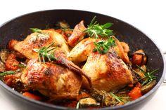 Simple Pan Fried Chicken & Vegetables For a quick tasty  Mein Blog: Alles rund um die Themen Genuss & Geschmack  Kochen Backen Braten Vorspeisen Hauptgerichte und Desserts # Hashtag