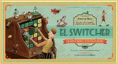 El Switcher es un juego de estrategia e ingenio en el que los jugadores deberán formar 23 figuras determinadas moviendo las fichas en el tablero a partir de las cartas de movimiento.