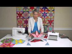 From the Sizzix Quilting Workshop: Using Your Fabric Scraps for Fantasti...