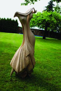 DANCE II., lime, height 100 cm / TANEC II., lípa, výška 100 cm / Viva wood art