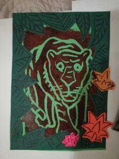 Henri Rosseau for children. ART history project.