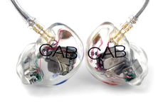 Custom in-ear monitors made for Alex Marshall, The Cab: JH16 Clear with Custom 1 Color Artwork #jhaudio