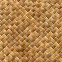 Lobby Ceiling Material - Fine Weave Matting Bamboo Cabana Wall Covering 4ft x 8ft