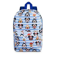 Stow away your carry-all essentials in this sleek backpack featuring Captain Mickey and his emoji friends as seen on Disney Cruise Line ships. Includes plenty of pockets to secure your gear for the voyage. H x W x 4 D Friends Emoji, Mickey Mouse And Friends, Emoji Backpack, Travel Backpack, Disney Parks Merchandise, Disney Handbags, Cruise Outfits, Unique Purses, Disney Cruise Line