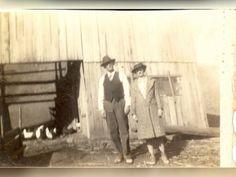 Ransom and Sally Fraley on family farm in Sandy Hook, KY.