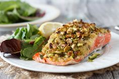 Effortlessly Easy to Make A Pistachio Crusted Salmon Recipe - Women's Health Blog