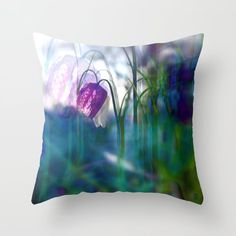Chequered lily with its magical spirit Throw Pillow by mokkihopero (Paivi Ojala) - Cover x with pillow insert - Indoo Couch Pillows, Down Pillows, Designer Throw Pillows, Pillow Design, Pillow Inserts, Buy Art, Hand Sewing, Nature Photography, Lily