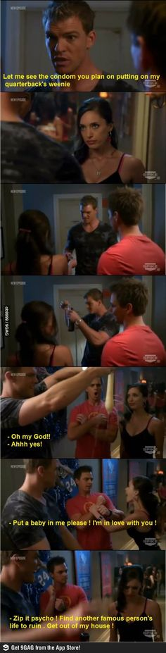 HAHAH xD Blue Mountain State at its best